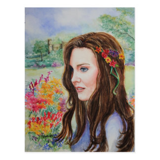PMACarlson Princess Kate Post Card