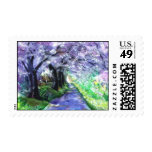 PMACarlson Purple Pathway Postage