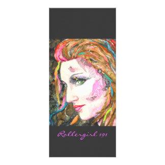 PMACarlson Rollergirl 191 Bookmarker Rack Card