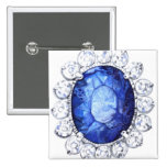 PMACarlson Royal Sapphire Button