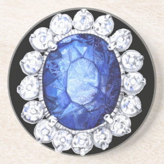 PMACarlson Royal Sapphire Coaster