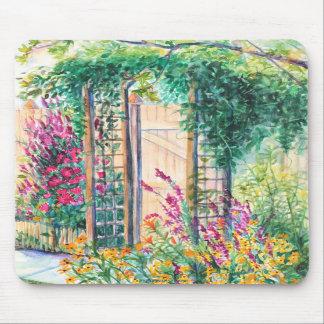 PMACarlson Secret Summer Garden Mouse pad