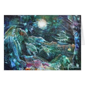 PMACarlson  The Mermaid's Tale Card