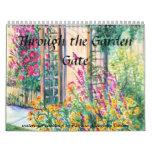 PMACarlson Through the Garden Gate Calender Wall Calendar