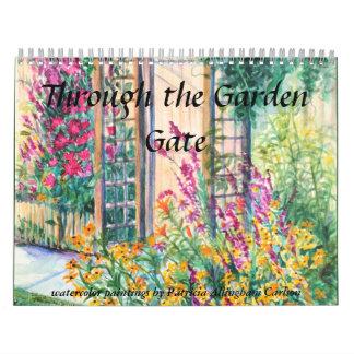 PMACarlson Through the Garden Gate Calender Calendar