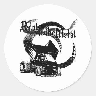 PMD-Blk_NoLogo Classic Round Sticker