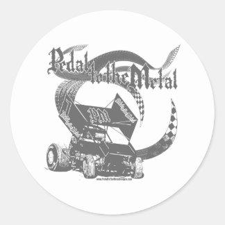 PMD-Gry Classic Round Sticker