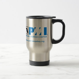 PMI Tampa Bay Chapter 15 Oz Stainless Steel Travel Mug