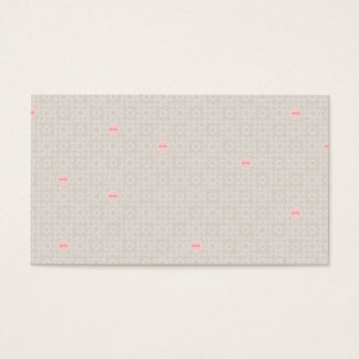 PMPH PINK PATTERN MOM SOFT PASTELS HEART SHAPES BA BUSINESS CARD