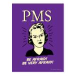 PMS: Be Afraid Postcard