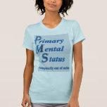 PMS - Camisa para mujer del escote redondo