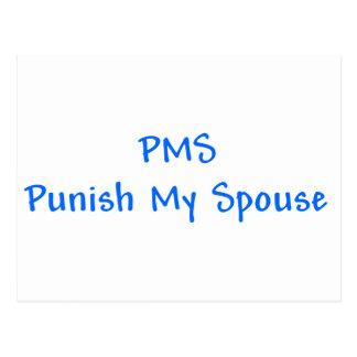 PMS castigan mi postal del cónyuge