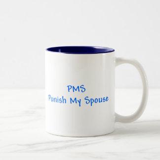 PMS castigan mi taza del cónyuge