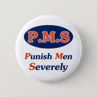 PMS Full Pinback Button