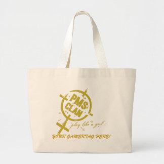PMS Handbag- Gold Logo Tote Bag