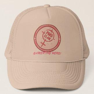 PMS Hat- Pink Logo 2 Trucker Hat