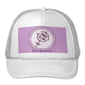 PMS Hat- Purple Logo 2 Trucker Hat