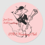 PMS Hunting Club Classic Round Sticker