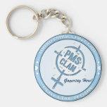 PMS Keychain- Blue Logo 2 Keychain