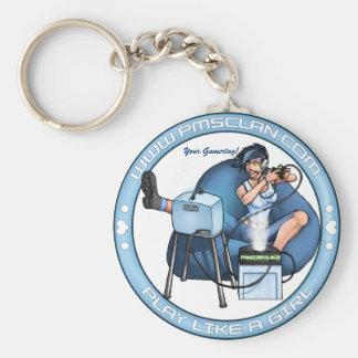 PMS Keychain- Pandora's Box Blue 2 Keychain