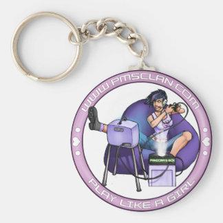 PMS Keychain- Pandora's Box Purple 2 Keychain