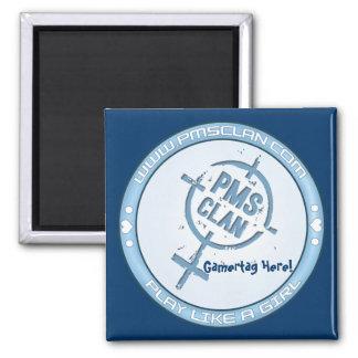 PMS Magnet- Blue Logo 2
