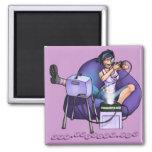 PMS Magnet-Pandora's Box Purple