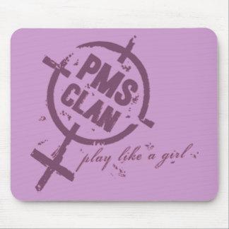 PMS Mousepad- Purple Logo Mouse Pad