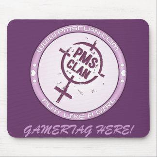 PMS Mousepad- Purple Logo 2 Mouse Pad