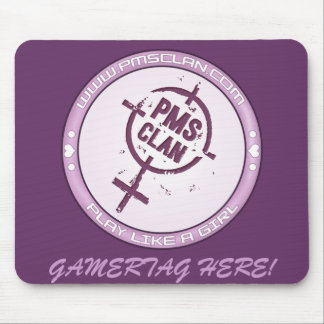 PMS Mousepad- Purple Logo 2 Mouse Pad