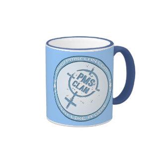 PMS Mug- Blue Logo 2 Ringer Coffee Mug