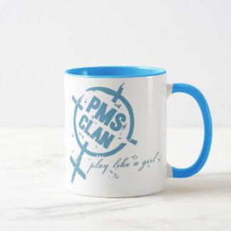 PMS Mug- Blue Logo Mug