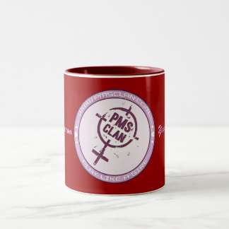 PMS Mug- Purple Logo 2 Two-Tone Coffee Mug