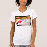 PMS, período, tensión pre menstrual Camisetas