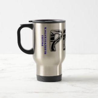 PMS - Police general-purpose stick 15 Oz Stainless Steel Travel Mug