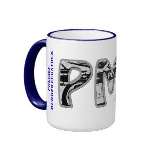 PMS - Police general-purpose stick Ringer Coffee Mug