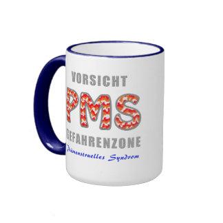 PMS - Premenstrual syndrome Ringer Coffee Mug