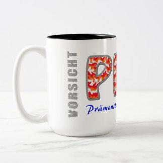 PMS - Premenstrual syndrome Two-Tone Coffee Mug