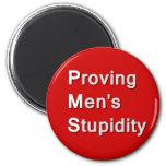 PMS: Proving Men's Stupidity Magnets
