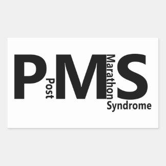 PMS RECTANGULAR STICKER