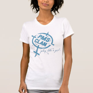 PMS Shirt- Blue Logo T-Shirt