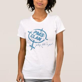 PMS Shirt- Blue Logo T-Shirt