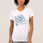 PMS Shirt- Blue Logo Tshirts
