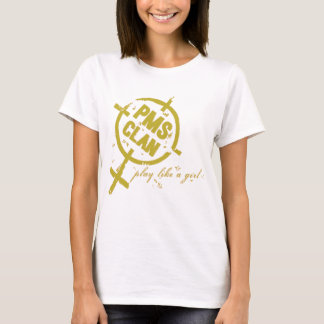 PMS Shirt- Gold Logo T-Shirt