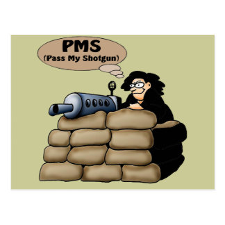 PMS T-shirts and Gifts For Her Postcard