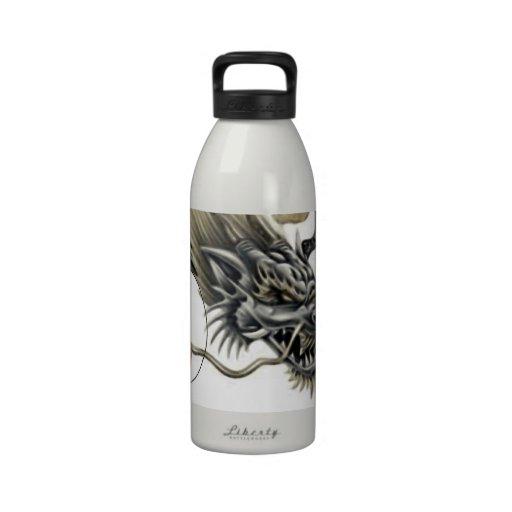 PMSA DRAGON WITH GOJU SUN Liberty Bottle Drinking Bottle
