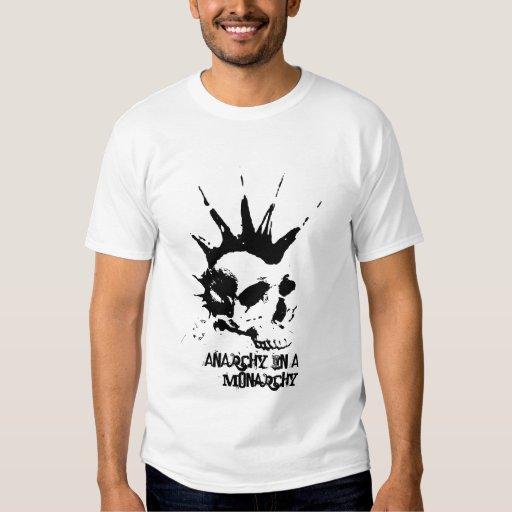 PND - Anarchy in a monarchy Tshirts