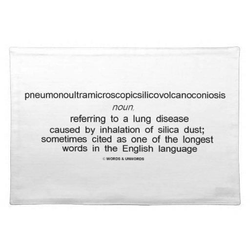 Pneumonoultramicroscopicsilicovolcanoconiosis Mantel Individual