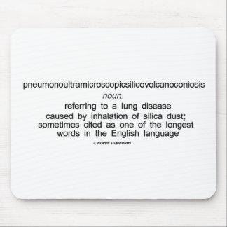 Pneumonoultramicroscopicsilicovolcanoconiosis Tapetes De Raton