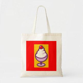 png_2299-Cartoon-Ice-Cream-Sundae-With-A-Cherry Tote Bag